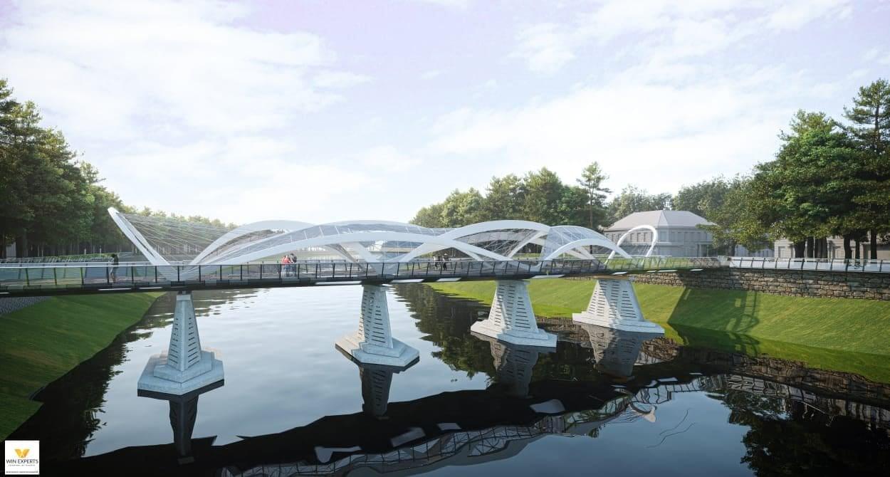В Ужгороді проведуть відкритий архітектурний конкурс на найкращий проєкт реконструкції пішохідного мосту