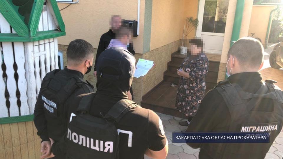 На Закарпатті двоє організаторів каналу переправлення нелегальних мігрантів за кордон постануть перед судом