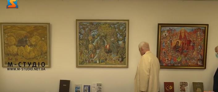 У Генконсульстві Словаччини в Ужгороді презентували виставку живопису Тараса Данилича