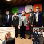 В Ужгороді нардепів Лабу та Тищенка не допустили в президію заходу за участю керманича посольства США