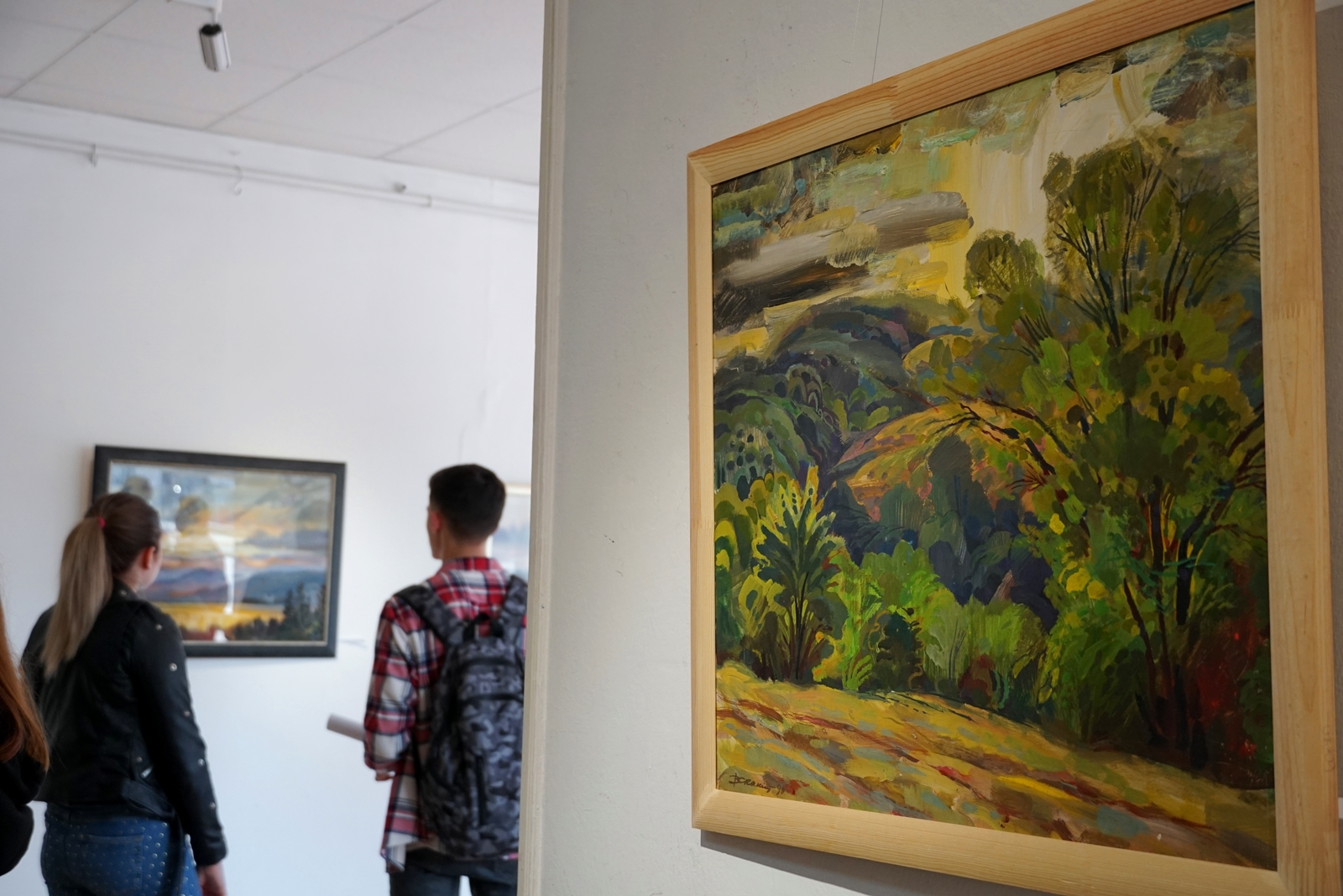 В Ужгороді відкрили ретроспективну виставку робіт Василя Скакандія