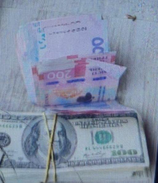 На Закарпатті спільна міжвідомча група затримала прикордонника на хабарі у 18200 доларів