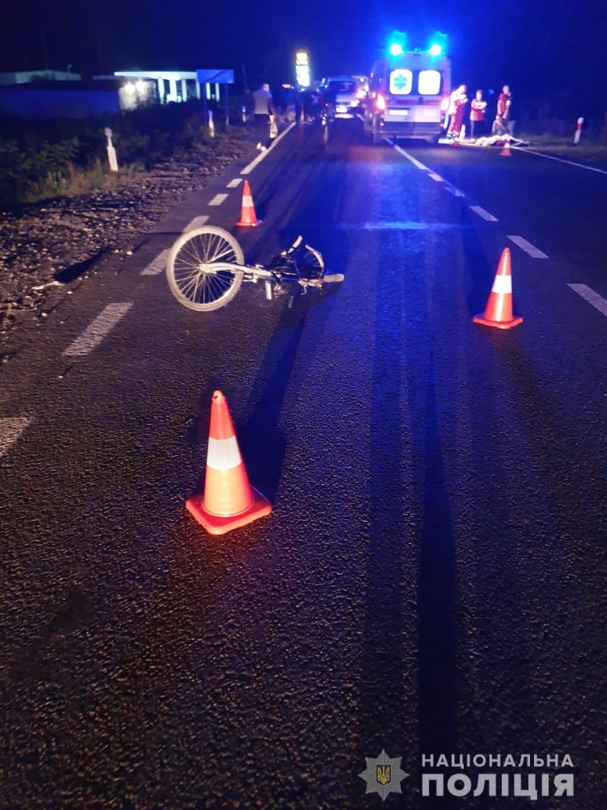 На Іршавщині водій авто збив насмерть 13-річного велосипедиста