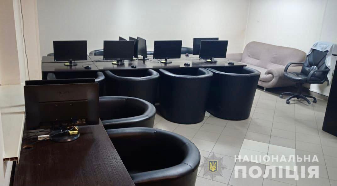 За один день закарпатські правоохоронці припинили діяльність шести гральних закладів