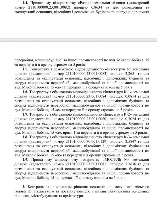 Сьогодні на сесії Ужгородської міськради відбувся наймасштабніший «дерибан» землі в історії міста (документ)