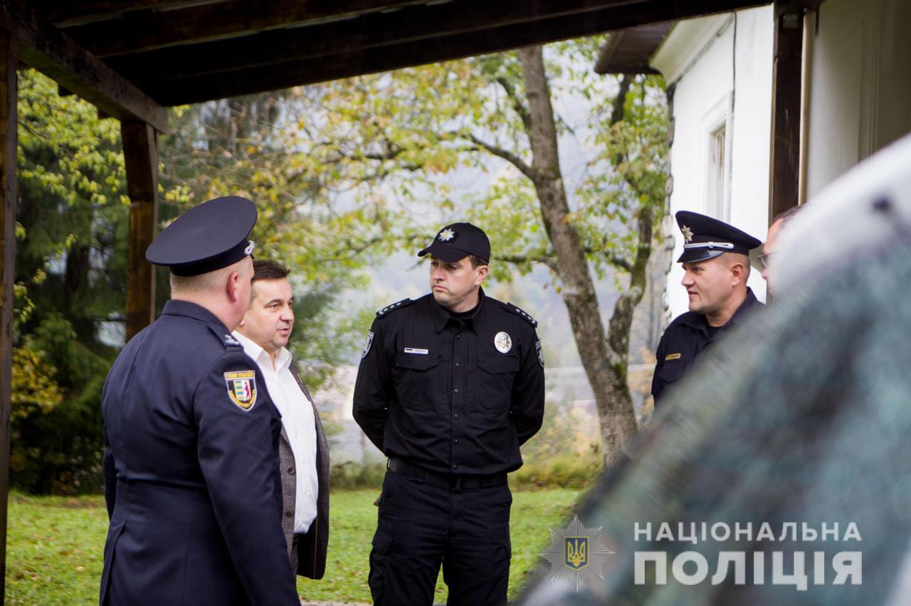 У найвисокогірнішому селі Закарпаття відкрили поліцейську станцію