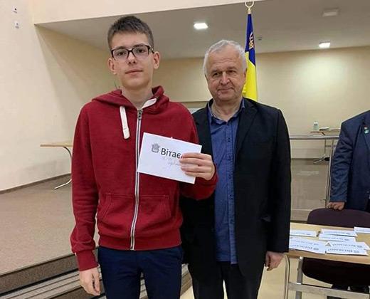 Юний закарпатець став чемпіоном України з блискавичних шахів